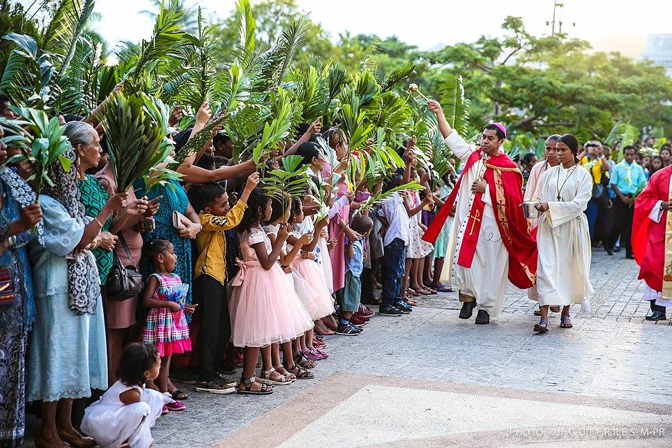Palmsonntag in Osttimor 2019