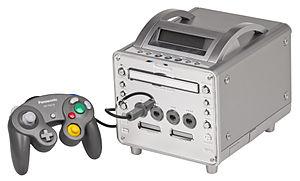 Panasonic Q - Image: Panasonic Q Console Set