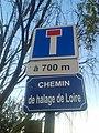 Panneau chemin de halage de la Loire - Sainte-Luce-sur-Loire, Loire-Atlantique, France.jpg