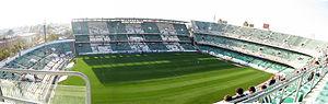 Spain 12–1 Malta - Image: Panorama Estadio Betis