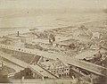 Panorama z wiezy Zamku Królewskiego Konrad Brandel 1873a.jpg