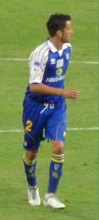 Christian Panucci - Panucci with Parma in 2009