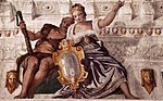 Paolo Veronese - Prudence and Manly Virtue - WGA24905.jpg