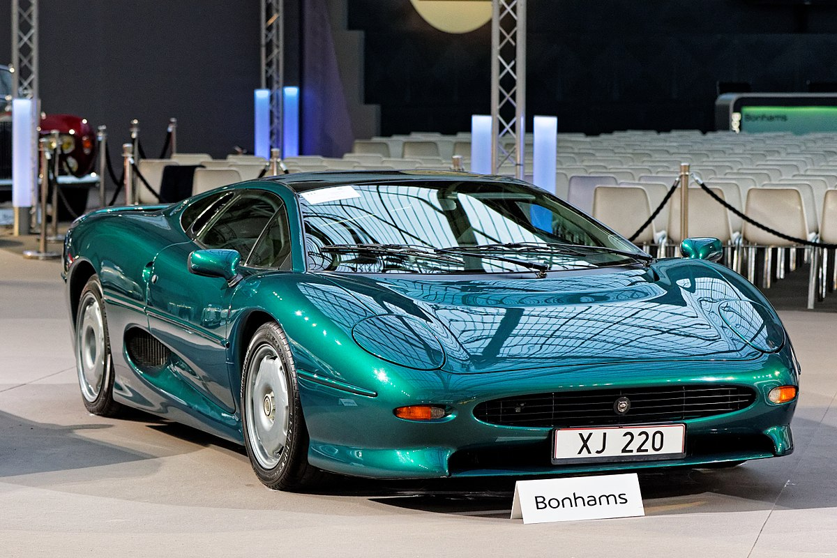 Jaguar Xj220 Wikipedia