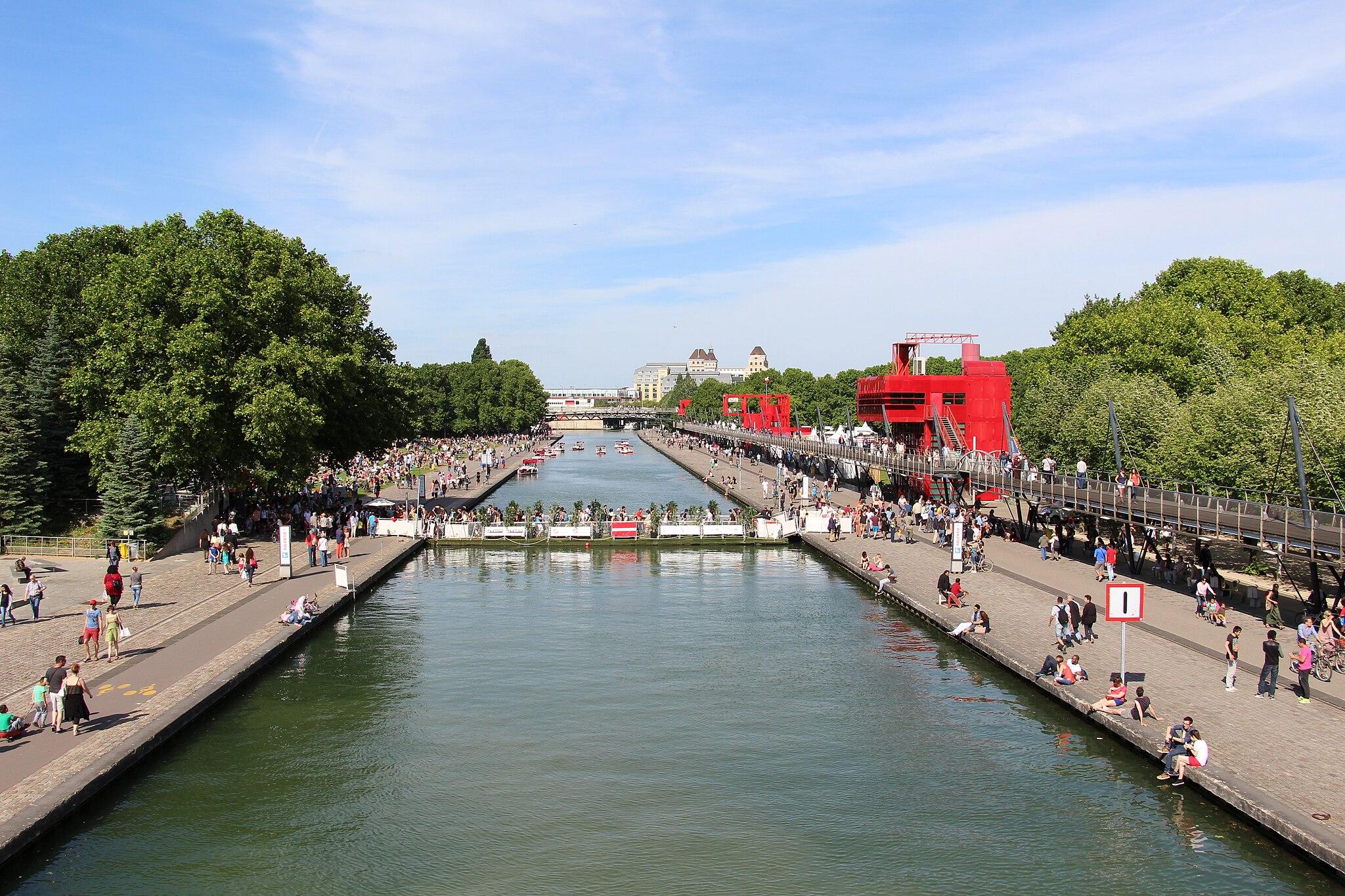 Paris - Canal de l'Ourcq (23415256272)