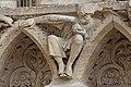 Paris - Cathédrale Notre-Dame - Portail de la Vierge - PA00086250 - 030.jpg