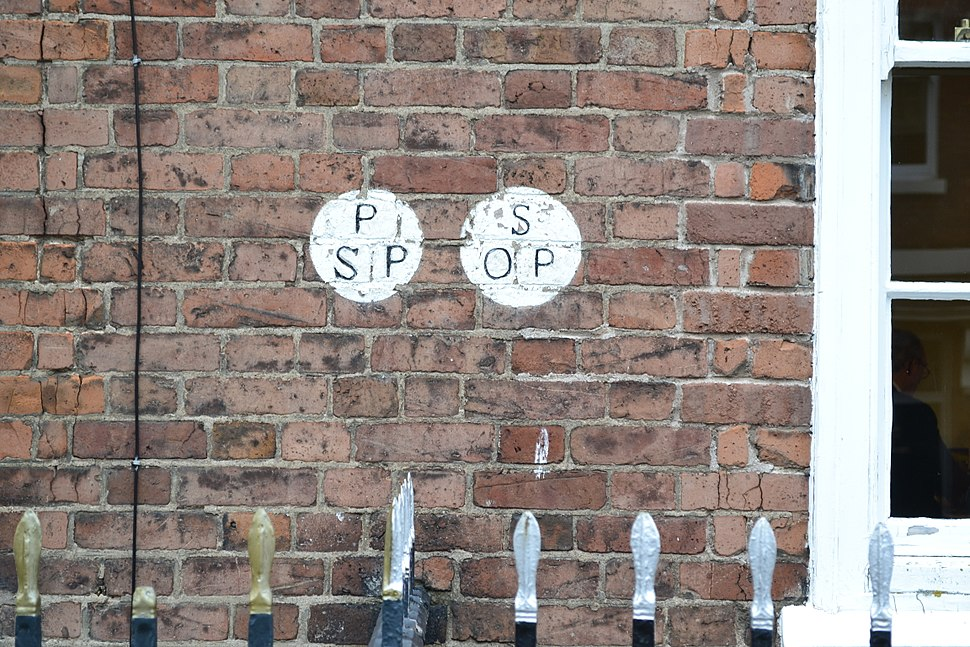 Parish boundary markers in Hereford