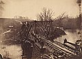 Part of Construction Corps Building New Military Truss Bridge Across Bull Run MET DP254762.jpg