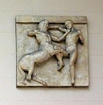 Parthenon south metope 31 - casting in Pushkin museum.jpg