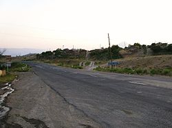 The road leading to Paruyr Sevak.