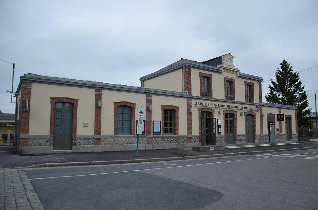 Estação Gare de Pontorson - Mont-Saint-Michel