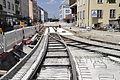 Pasing - Baustelle Tram-Linie.JPG