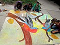 Passenger Pigeon Chalk Art (15074698320).jpg