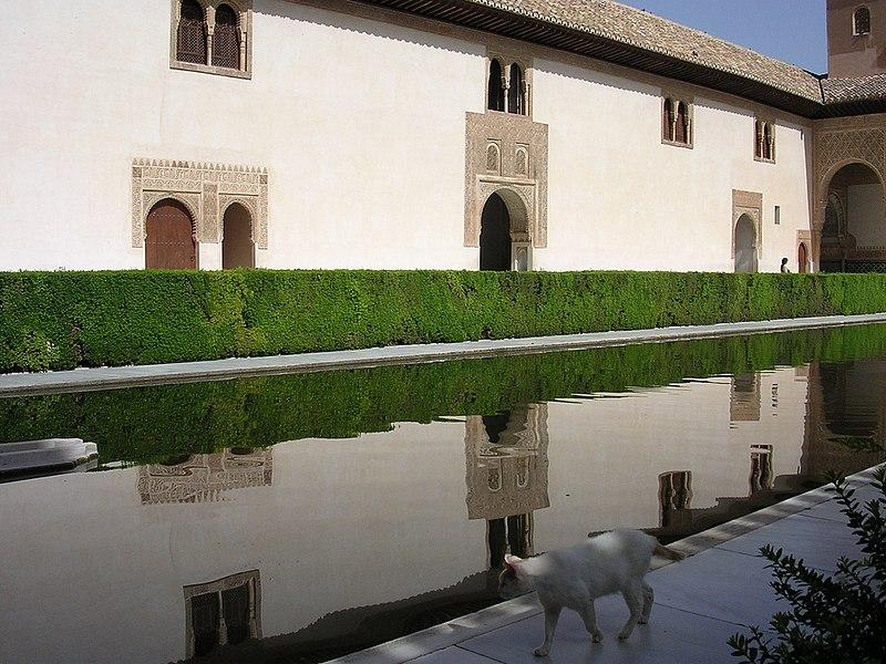 Archivo patio de los arrayanes alhambra for Patios de granada