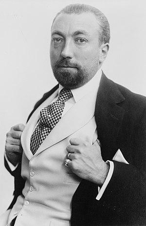 TITLE: Poiret, half-length portrait, facing le...