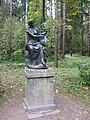 """Pavlovsk Park. Twelve tracks. Statue of """"Terpsichore""""..JPG"""