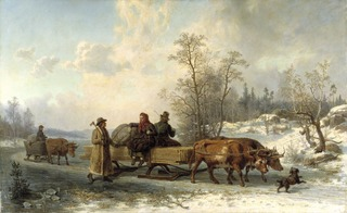 Peasants from Sorunda on their Way to Stockholm
