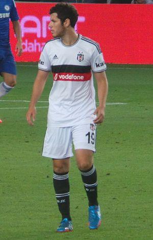 Pedro Franco - Franco playing for Beşiktaş in 2014