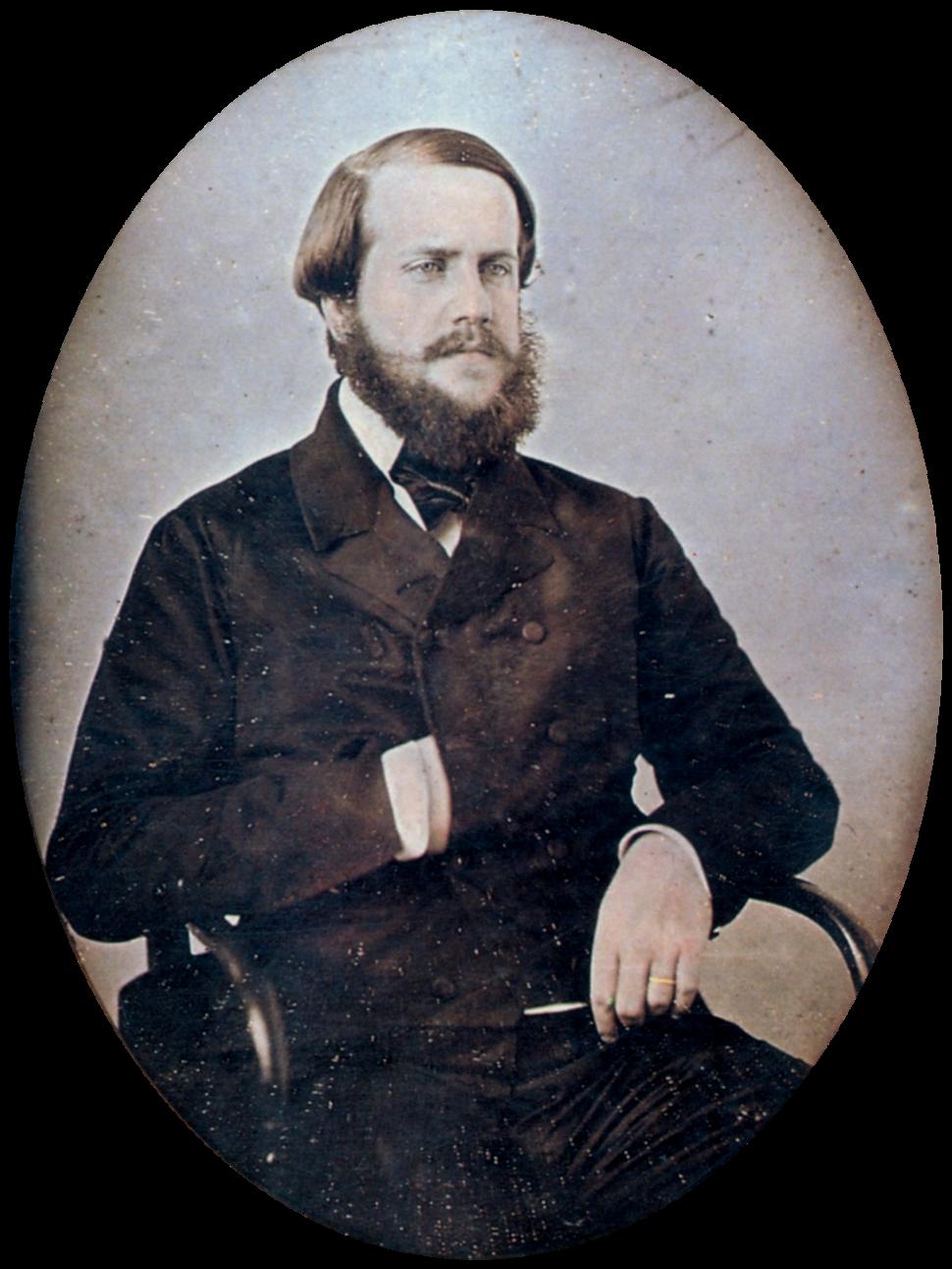 Pedro II of Brazil 1851 edit