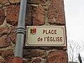 Perreux - Place de l'Église (plaque) - fév 2018.JPG