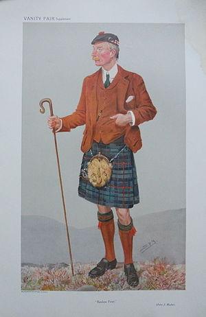 Sir Peter Mackie, 1st Baronet - Mackie caricatured by Spy (Leslie Ward) for ''Vanity Fair'' in 1908.