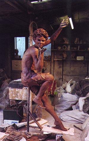 Diarmuid Byron O'Connor - The clay Peter Pan