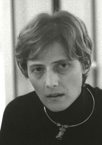 1983 West German federal election - Image: Petra Kelly, 1987 (cropped)