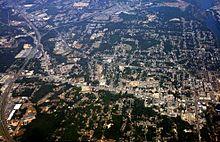 Vista aérea de Phenix City (c. 2009)
