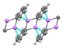 Alkali metal wikipedia solid phenyllithium forms monoclinic crystals can be described as consisting of dimeric li2c6h52 subunits the lithium atoms and the ipso carbons of the urtaz Image collections