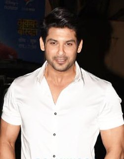 Sidharth Shukla Indian actor and model