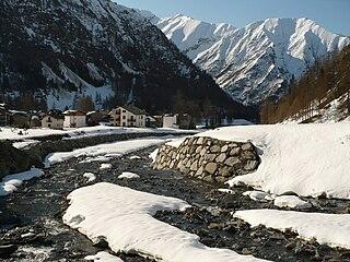 Soana (river) italian torrent