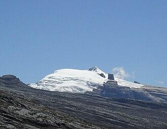 Sierra Nevada del Cocuy - Image: Pico Pan de Azucar