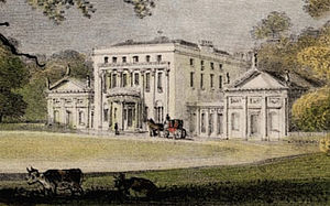 Piercefield House - Piercefield House circa 1840 from a painting by George Eyre Brooks