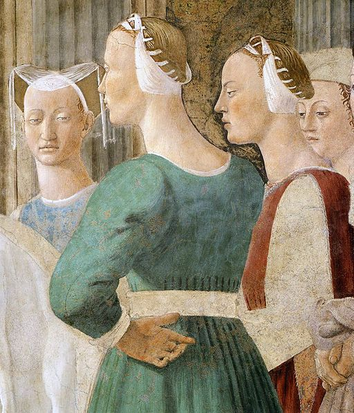 Piero della Francesca - 2b. Meeting between the Queen of Sheba and King Solomon - WGA17499