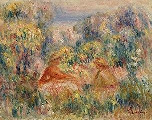 Two Women in a Landscape (Deux femmes dans un paysage)