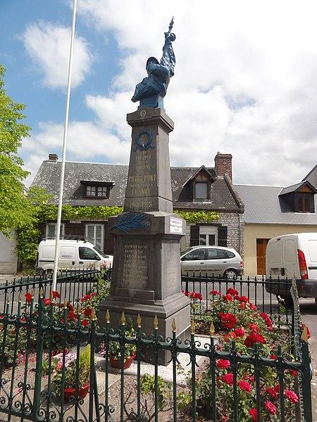 Pierrepont (Aisne) monument aux morts