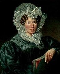 Portrait of Maria Geertruida Snabilié