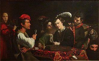 Pietro Paolini - The card sharps