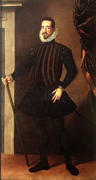 Santi di Tito - Image: Pietro de' Medici Santi di Tito 1584 1586