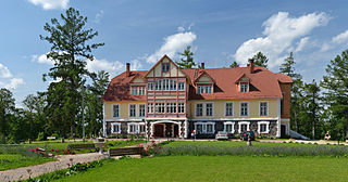 Pikajärve Village in Põlva County, Estonia