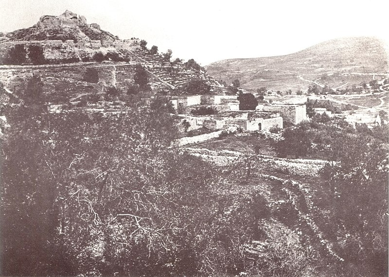 העיר צפת 1862