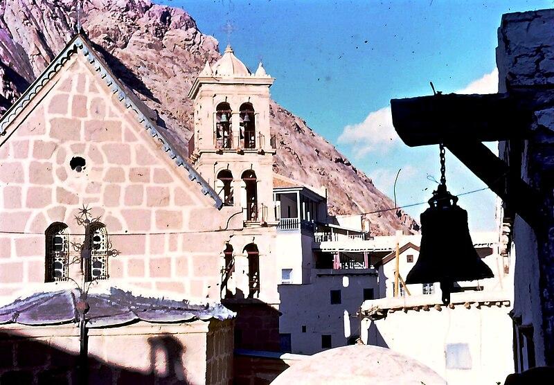 מנזר סנתה קטירינה במדבר סיני 1968