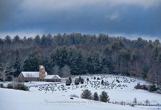 Alleghany County, North Carolina - Image: Piney Creek Methodist Church