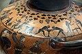 Pittore del louvre E739, hydria ricci, etruria (artigiani da focea), dalla banditaccia, 530 ac. ca., preparazione di sacrificio 09 purificazione.jpg
