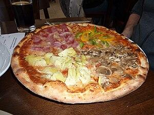 Pizza quattro stagioni - Pizza quattro stagioni