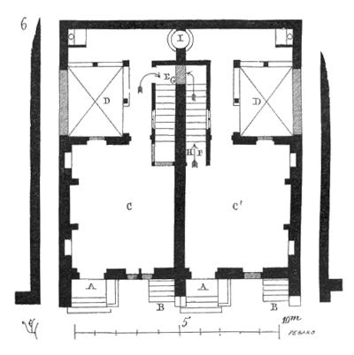 Plan de maison avec un mur mitoyen for Fenetre mur mitoyen