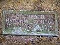Plaque, Brockagh National School - geograph.org.uk - 1089841.jpg