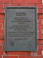 Plaque commémorative de la Dominion Corset, 1993.jpg