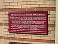 Plaque for the Great Central Railway War Memorial - geograph.org.uk - 873235.jpg