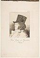 Plate 1 from 'Los Caprichos'- Self-portrait of Goya (Franco. Goya e Lucientes, Pintor) MET DP816957.jpg
